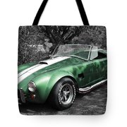 Green Cobra Tote Bag