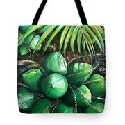 Green Coconuts  3  Sold Tote Bag