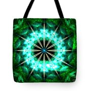 Green Compass Tote Bag