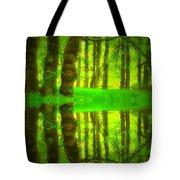 Green Day Dreams Tote Bag