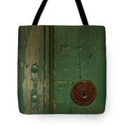 Green Door   #4377 Tote Bag