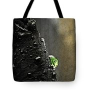 Green Droplet  Tote Bag