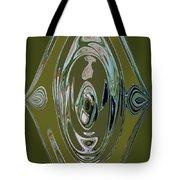 Green Elegance Tote Bag