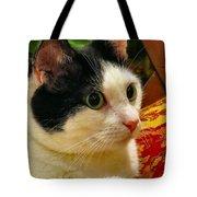 Green Eyed Girl Tote Bag