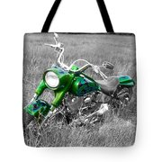 Green Fat Boy Tote Bag