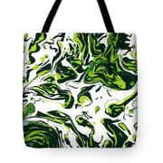 Green Fiction Tote Bag