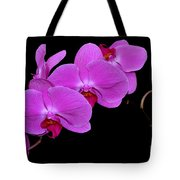 Green Field Sweetheart Orchid No 2 Tote Bag