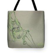 Green Figure II Tote Bag