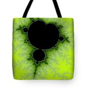 Green Fractal Tote Bag