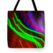 Green Fusion Traveler In The Cosmos Tote Bag