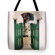 Green Gate Tote Bag