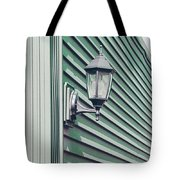 Green Geometry Tote Bag