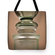 Green Glass Bottle Tote Bag by Christi Kraft