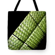 Green Glass Tote Bag