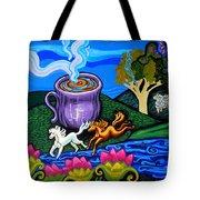Green Goddess Coffee Tote Bag