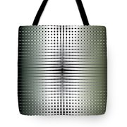 Green/gold Grid Tote Bag