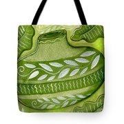 Green Gourd Tote Bag