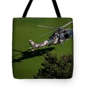 Green Grass Landing  Tote Bag