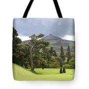 Green Green Garden And Mountain Tote Bag