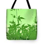 Green Green Haiku Tote Bag