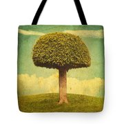 Green Growing Lullaby Tote Bag