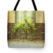 Green House Tote Bag by Margie Hurwich