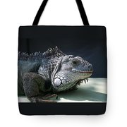 Green Iguana 1 Tote Bag