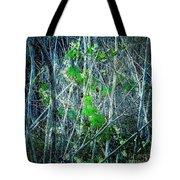 Green In Winter Tote Bag