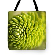 Green Inifinity Tote Bag