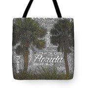 Green Key Beach Hill Side  Tote Bag