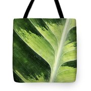 Green Leaf Tote Bag