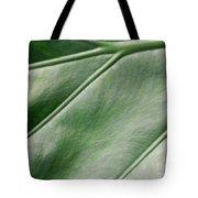 Green Leaf Up Close 2 Tote Bag