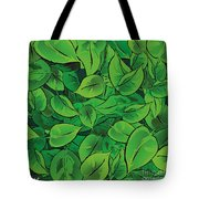 Green Leaves - V1 Tote Bag