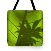 Green Leaves Series 3 Tote Bag