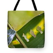 Green Leaves Series  5 Tote Bag