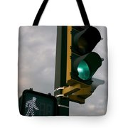 Green Light Walk Tote Bag