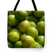 Green Limes Tote Bag