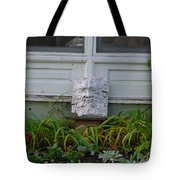 Green Man Smiling Tote Bag