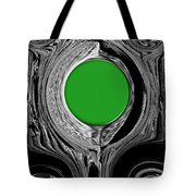 Green Mirror Tote Bag