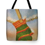 Green Mittens Tote Bag