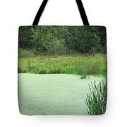 Green Moss Tote Bag