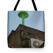 Green Mushroom By Nagel Tote Bag