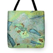 Green Of The Earth Plane Tote Bag