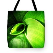 Green Paradise - Leaves By Sharon Cummings Tote Bag