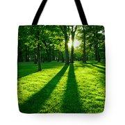 Green Park Tote Bag by Elena Elisseeva
