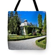 Green Park In Daruvar With Old Thremae Tote Bag