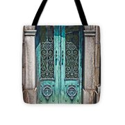 Green Patina Tote Bag by Marcia Lee Jones
