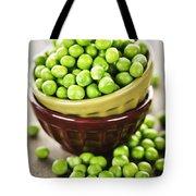 Green Peas Tote Bag