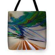 Green Planets Tote Bag