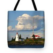 Green Point And Keepers Cottage Tote Bag